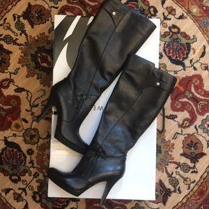 Nine West Black Boots - size 7.5 M